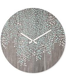 Deny Designs Iveta Abolina Coastal Raindrops Round Clock