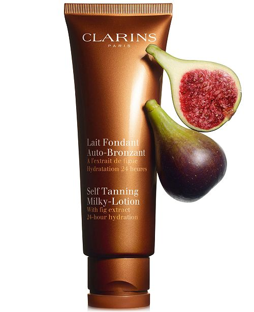 Senka White Beauty Lotion Ii Review: Clarins Self Tanning Milky-Lotion For Face And Body, 4.2