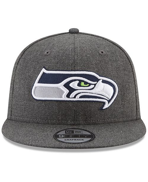 35f23969640 ... New Era Seattle Seahawks Crafted In America 9FIFTY Snapback Cap ...