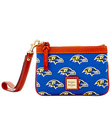 Dooney & Bourke Baltimore Ravens Exclusive Wristlet