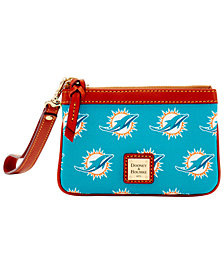 Dooney & Bourke Miami Dolphins Exclusive Wristlet