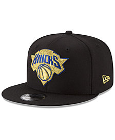 New Era New York Knicks Gold on Team 9FIFTY Snapback Cap