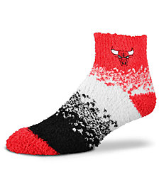 For Bare Feet Chicago Bulls Marquee Sleep Soft Socks