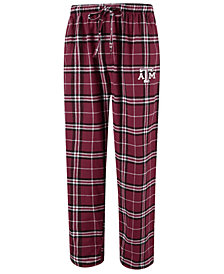 Concepts Sport Men's Texas A&M Aggies Huddle Flannel Pants
