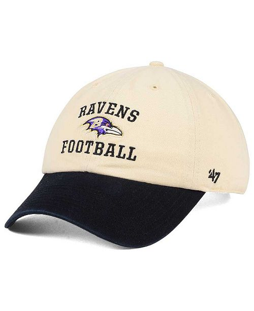 '47 Brand Baltimore Ravens Steady Two-Tone CLEAN UP Cap