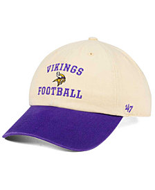 '47 Brand Minnesota Vikings Steady Two-Tone CLEAN UP Cap