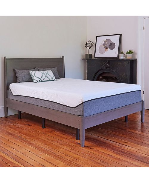 Chic Couture Sleep Trends Sofia Plush Gel Memory Foam 12-Inch Mattress, Quick Ship, Mattress in a Box - Twin