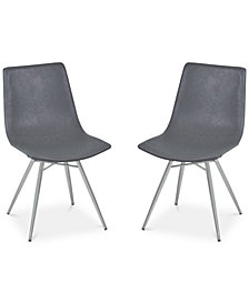 CLOSEOUT! Athens Dining Chair (Set Of 2), Quick Ship