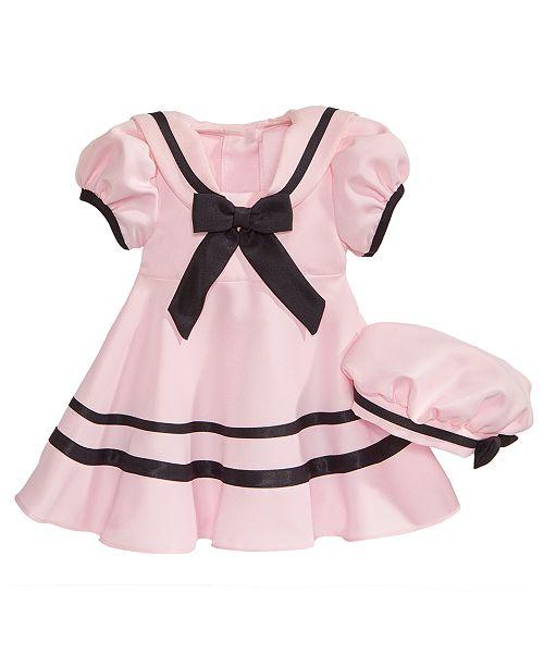 Rare Editions 2-Pc. Sailor Dress   Hat Set 565473d3d11