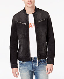 G-Star RAW Men's Arc DC 3D Slim-Fit Stretch Full-Zip Denim Jacket