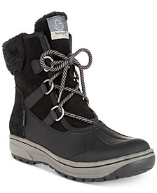Danula Lace-Up Cold-Weather Boots