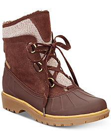 Baretraps Sitila Lace-Up Cold-Weather Boots