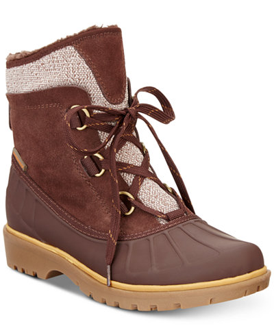 Bare Traps Sitila Lace-Up Cold-Weather Boots