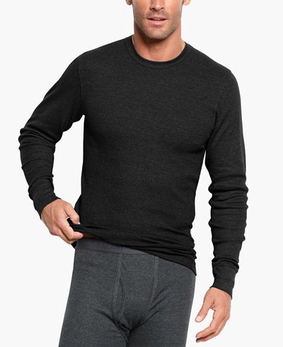 Alfani Men's Big & Tall Thermal Shirt, Created for Macy's