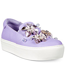 Kenneth Cole Reaction Women's Cheer Floral Platform Sneakers