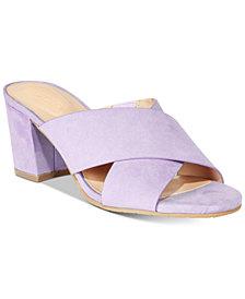 Kenneth Cole Reaction Women's Mass Away Block-Heel Slide Sandals