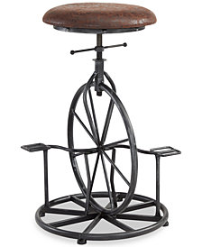 Harlem Adjustable Bicycle Stool, Quick Ship