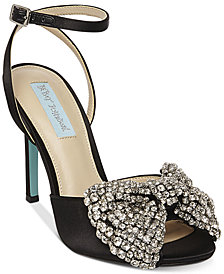Blue by Betsey Johnson Heidi Bow Pumps