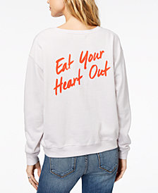 Kid Dangerous Eat Your Heart Out Graphic Sweatshirt