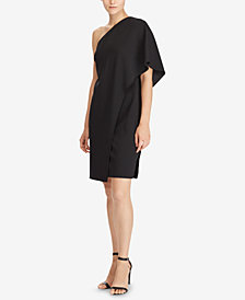 Lauren Ralph Lauren One-Shoulder Dress