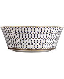 "Wedgwood Renaissance Gold 10"" Serving Bowl"