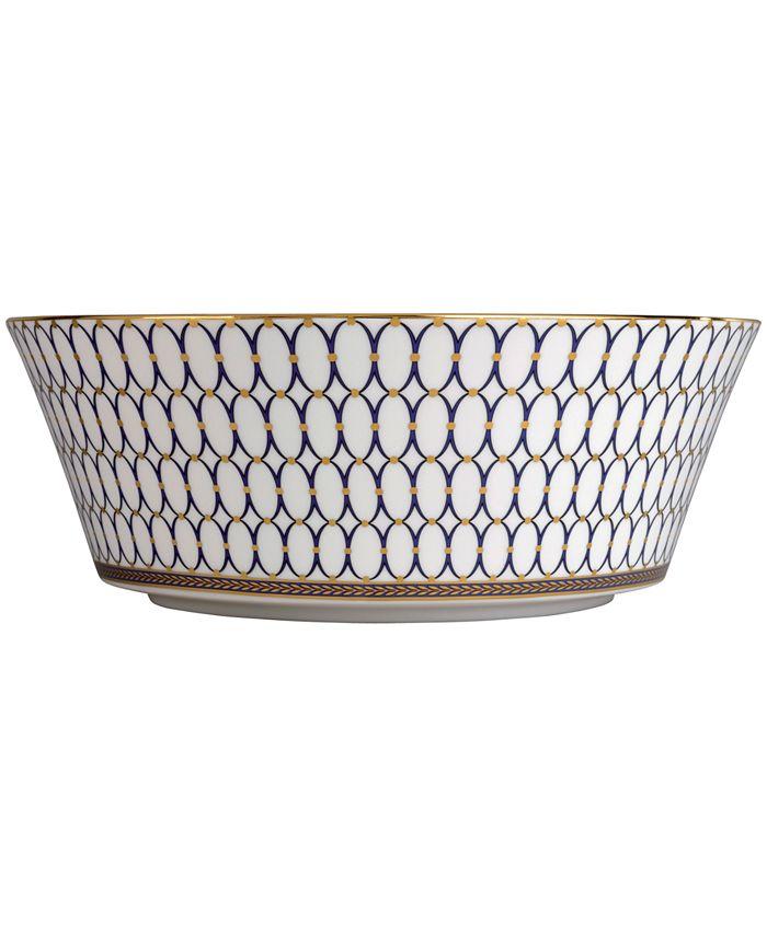 "Wedgwood - ""Renaissance Gold"" Serving Bowl, 10"""
