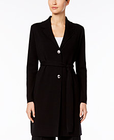 Nine West Belted Topper Jacket
