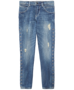 Guess Grommet-Side Jeans,...