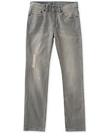 Calvin Klein Skinny-Fit Stretch Denim Jeans, Big Boys
