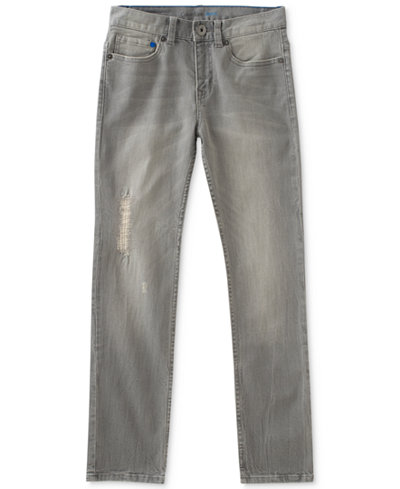 Calvin Klein Skinny-Fit Stretch Denim Jeans, Big Boys