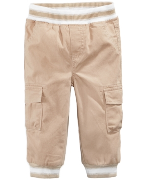First Impressions Cargo Jogger Pants Baby Boys (024 months) Created for Macys