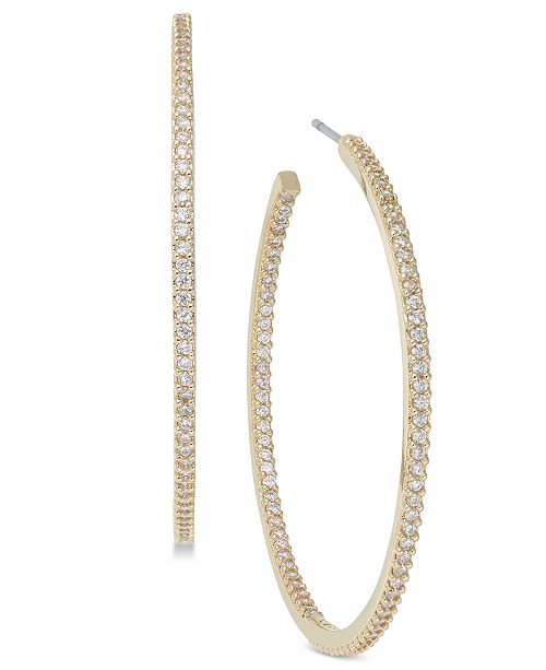 Kate Spade New York Pavé Large Hoop Earrings 2 Reviews Main Image