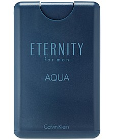 ETERNITY AQUA for men Eau de Toilette Pocket Spray, 0.67 oz.