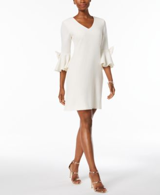 Macy Dresses Cream Color