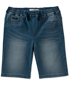 Calvin Klein Knit Denim Shorts, Big Boys