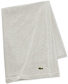 Lacoste Fleece Throw
