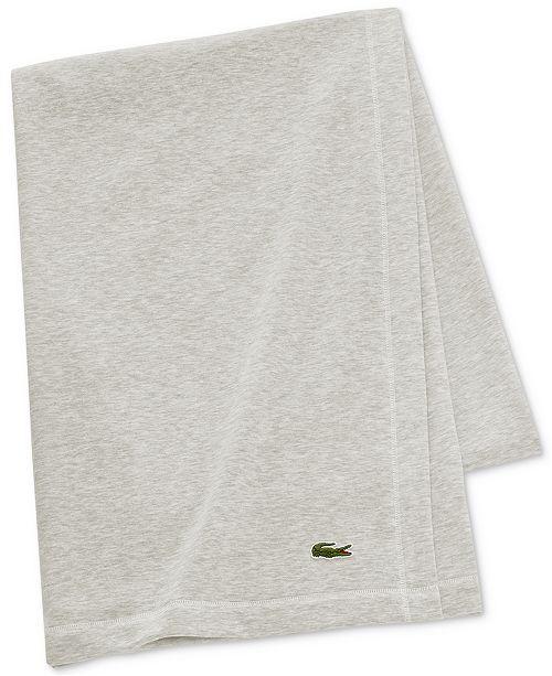 lacoste home lacoste fleece throw blankets throws bed bath