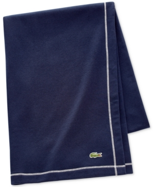 Image of Lacoste Fleece Throw Bedding