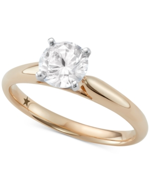 Solitaire Engagement Ring (1 ct. t.w.) in 14k White or Yellow Gold