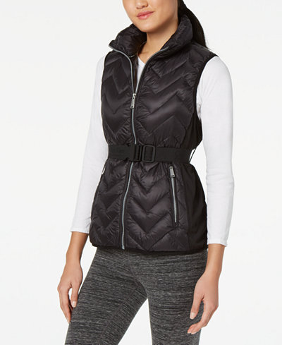 Calvin Klein Performance Belted Quilted Vest