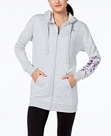 Puma Fusion Elongated Zip Hoodie