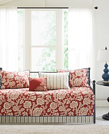 Madison Park Lucy 6-Pc. Cotton Reversible Daybed Bedding Set
