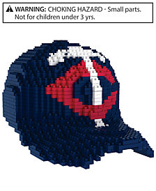 Forever Collectibles Minnesota Twins BRXLZ 3D Baseball Cap Puzzle