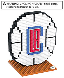 Forever Collectibles Los Angeles Clippers BRXLZ 3D Logo Puzzle