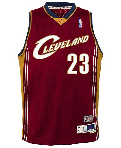 purchase cheap 977bb 14ca5 adidas Lebron James Cleveland Cavaliers Soul Swingman Jersey ...