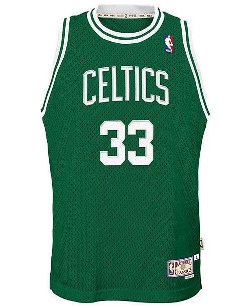 1ada93f5516 adidas Larry Bird Boston Celtics Retired Player Swingman Jersey, Big Boys  (8-20 ...