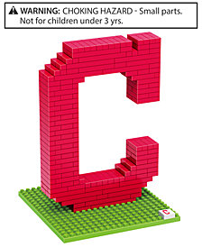 Forever Collectibles Cleveland Indians BRXLZ 3D Logo Puzzle
