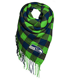 Forever Collectibles Seattle Seahawks Blanket Scarf