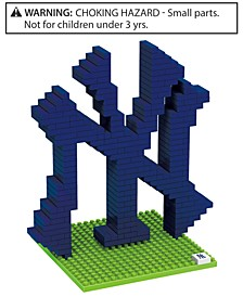 New York Yankees BRXLZ 3D Logo Puzzle