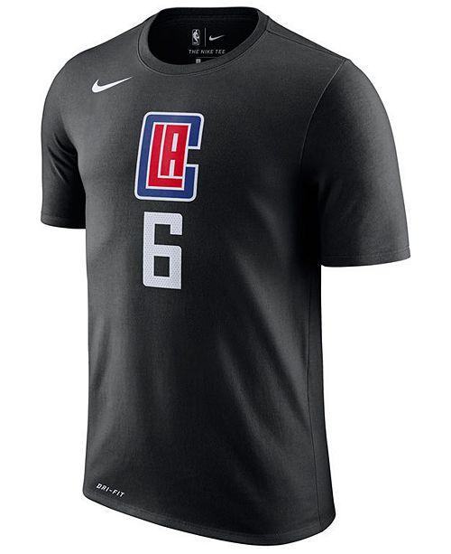 sports shoes ccabb 76869 Nike Men's DeAndre Jordan Los Angeles Clippers Name & Number ...